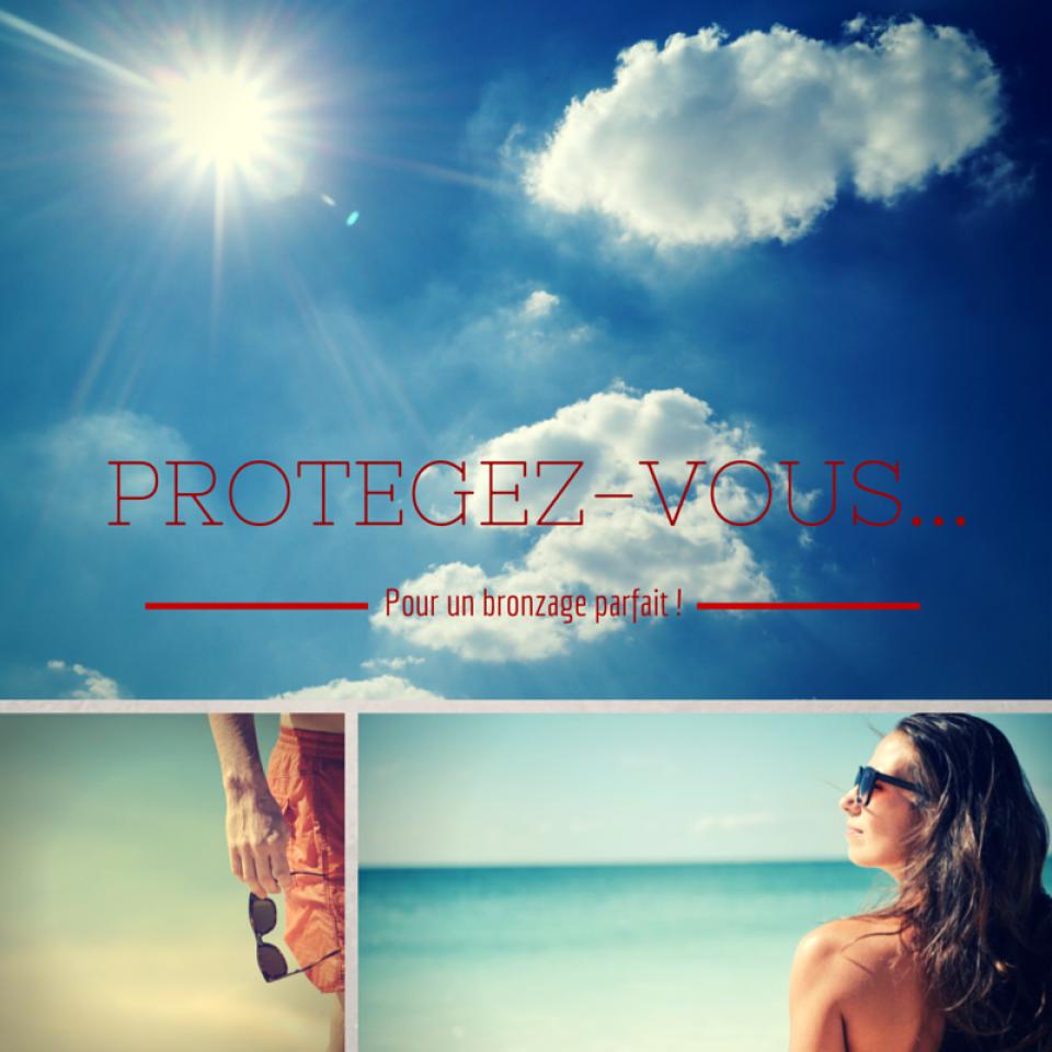 Protection solaire - agissement des ultraviolets